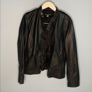 Stand & Deliver leather jacket